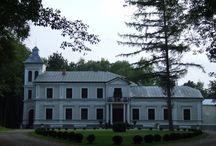 Miastków Kościelny - Pałac / Pałac Nogalin w Miastkowie Kościelnym został wybudowany w 1880 roku przez rodzinę Gąssowskich. Od 1901 roku majątek przeszedł w posiadanie Potockich.    Od pożaru w 1987 roku do lat 90 tych pałac pomimo częściowego zamieszkania szybko zaczął popadać w ruinę. W 2002 r. pałac stał się własnością prywatną i przeprowadzono jego generalny remont. Obecnie - hotel.