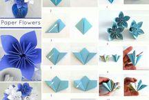 折り紙 フラワー