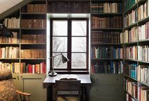 Mulla pitäis olla tällainen kirjastohuone