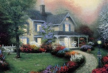 Art~Thomas Kinkade / Thanks for stopping by,  I like to Share,  pin as many as you like!!  Happy Pinning!!! / by Tamera Sarkozi