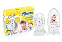"""Pikabu / Pikabu - Wireless Digital Baby Alarm 2"""" LCD Color Monitor + Camera, Video, 2 way Audio, IR Night Vision and 8 lullaby sounds  SALE: $99.99 ($129.99)"""