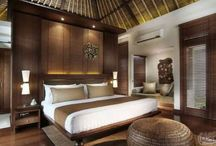Joglo bedroom lighting