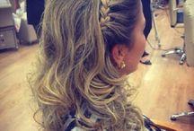 penteados de festas