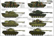 Tanks & Army Vehicles - general