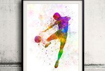 Sport drawing