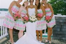 lilly pulitzer wedding / lilly pulitzer southern colorful wedding inspiration