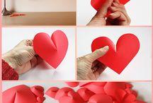 Decoração de coração