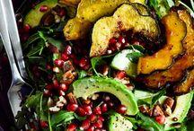 autumn fresh dishes