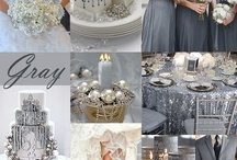 Wedding inspiration Grey / All things grey for weddings and events