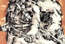 Retro (war) plakát