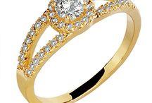 Anel de noivado / Anel de noivado em ouro