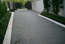 Garage/ driveway