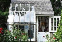 Backyard glasshouses and studios