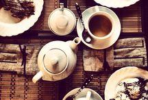 Чай, кофе... )) / Завтрак или ланч с подругами, легкий перекус в небольшом кафе, домашняя выпечка и красиво накрытый стол стоят того, чтобы их запечатлели ....