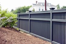 Fence and garden styles / new house Wildman road - exterior