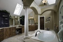 iNspiration ~ Bathroom / We so need makeovers in our bathrooms. Hopefully these ideas will find their way into our remodels. / by Robin Rix