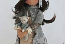 Creare con la stoffa / Bambola stile russa