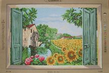Very large needlepoint canvases / Apr 20 x 28''