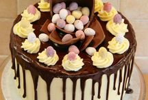 Easter cakes etc