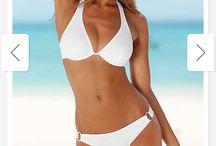 Den perfekte hvite bikini