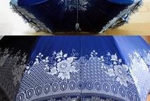 Antikke paraplyer
