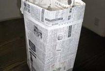 新聞紙利用