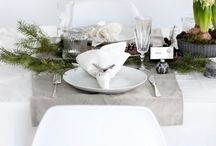CHRISTMAS DINING TABLE / by Cate