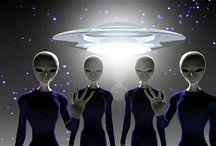 Pek Muhterem Uzaylı Kardeşlerimiz ve Uzay