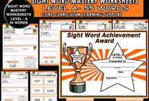 Sight Words -Dolch List / Sight words products