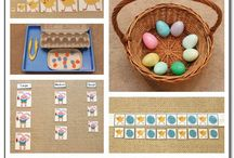 easter montessori activities