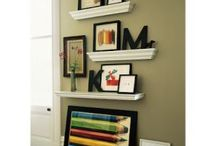 shelf ideas living room / by holly lock