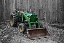 Old Tractors / Lovely old vintage tractors!!