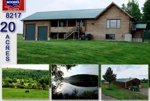 238 Thompson Settlement Road Oakfield Maine 04763 / The Home In Maine For Sale Is Log, Sits On Elevated 20 Acres With Incredible Views! Watch Video! $265,000 Asking Price. Extra 145 Acres For $75,000 In Same Town If You Want More Land, On A Maine Lake! Cedar Log Home With Cathedral Ceilings, 4 Bedrooms, 2 Baths! Out Buildings For Work, One Heated! Call, 207.532.6573 Text 207.532.8960 Email info@mooersrealty.com Visit MOOERS REALTY 69 North Street Houlton Maine 04730
