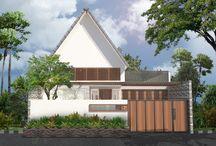 Mr. Tekkin House / Architecture project located PIK Jakarta