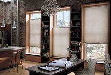 Shady Sunday / Great Hunter Douglas window shadings showcased!