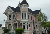 Really Old Victorian Homes / In Eureka Ca they have the most beautiful Victorian homes. I would walk to all of them , these homes remind me of those walks.