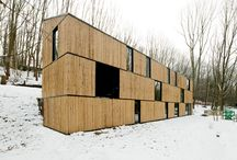 A - wood architecture