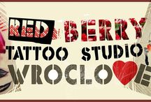 Red Berry Tattoo studio in Wroclaw Poland