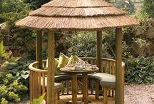 Oasis - Breeze House / The Oasis Breeze House is an ideal bijou size, fitting for any garden, and is perfect for that morning coffee break, tea for two in the afternoon or a glass of wine with friends in the evening.