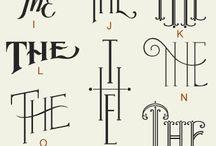 Type o' Graphs / Handwritings, fonts, ideas