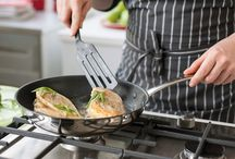 Energy-efficient roasting and frying / The kitchen is always a place full of lively activity. A lot of water and heat is used every day. Unfortunately much of this is lost. But with Beka Cookware tips, the energy stays where it needs to: in the most delicious dishes!