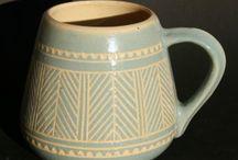 Estonian winter colours in antique items