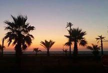 Couchers & levers de soleil / Les jeux du soleil sur le territoire de Saint Cyprien.