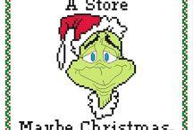 Kreuzstich Weihnachten / Weihnachtsmotive