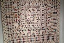 Quilt - Antique Welsh quilts