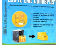 EDB to EML Converter / EDB to PST EML Converter is the best way to convert EDB Emails into EML file. Software export corrupted EDB file into EML file.