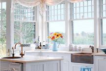 окно кухня