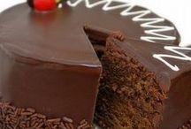 Pastel de chocolates