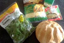 Cob Dip Recipe / Cheesy Spinach Cob Loaf Dip .... This but add bacon and sweetcorn and serve with fresh veg sticks as well as bread