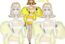 "Fashion Illustrations / ""80s Glam"" by Khadijah Davis #fashionera #80s #retro"